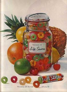 LifeSaver's Five Flavor Assortment of Candy (1962)