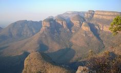 View of the Three Rondavels -Graskop by mikelisaanna