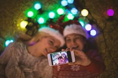 How to Be Photogenic in Every Holiday Photo | On top of your never-ending holiday to-do list (shop, wrap, cook, clean, repeat) you want to look pulled together, because, well, it's prime photo-snapping season. New York City makeup artists Ashleigh Ciucci and Lijha Stewart share a few easy pointers for this extra-hectic time of the year.
