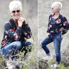 Another BOMB!!! And yes thisfloral bomber jacket definitely is the BOMB! It's made of the silkiest fabric, is super warm,…
