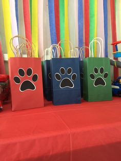 Paw Patrol goody bags pets bags paw patrolpets 12pk by Nubedesigns