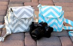 Graduation Gifts ~ Small Padded Camera Bag - Summer Vacation ~ Mother's Day Gifts