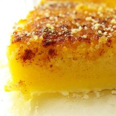 Queijada de leite e laranja | SAPO Lifestyle