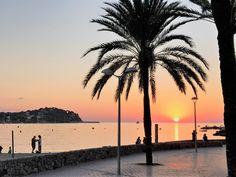 Sonnenuntergang am Srand von Santa Ponsa !
