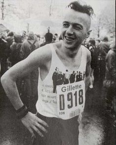 Joe Strummer of The Clash before running the London marathon, 1983 [[MORE]]twogunsalute:Joe Strummer ran with a team from The Sun newspaper in aid of leukaemia and finished the marathon in 4 hours and 13 minutes. Here is an excerpt from the April 28th 1983 edition of Smash Hits magazine.  Not a stranger to running as when he was younger Strummer was the school cross country champion. Strummer also claimed to have run the 1982 Paris marathon but there doesn't seem to be much evidence of ...