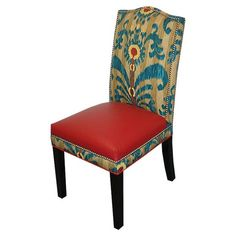 I pinned this Loni M. Melanie Chair in Red from the Bohemian Rhapsody event at Joss and Main!