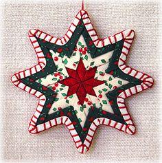 star shaped folded star ornament photo