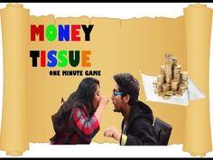MONEY TISSUE: KITTY PARTY GAME Ladies Kitty Party Games, Adult Party Games, One Minute Games, Makar Sankranti, Couple Games, Cat Party, Catwoman, Money, Couples