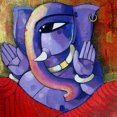 Purple Ganesha :) - Sekhar Roy