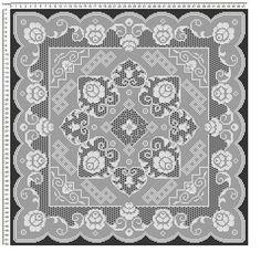 Mojalbum - foto album in oglasnik Filet Crochet, Crochet Borders, Thread Crochet, Crochet Stitches, Crochet Tablecloth, Crochet Doilies, Romanian Lace, Cross Stitch Rose, Needlepoint