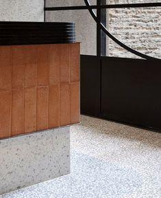 Techne Architecture + Interior Design Creates Landmark Flinders Lane Emporium for Brunetti - InteriorZine Interior Design And Build, Modern Interior, Design Studio, Cafe Design, Australian Architecture, Interior Architecture, Interior Inspiration, Design Inspiration, Counter Design