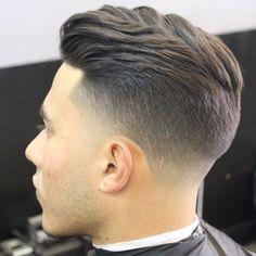 Resultado de imagem para taper fade haircut male