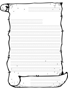 printable blank scroll template … | pinteres…, Powerpoint templates