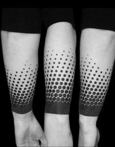 Discover the meaning and memorial charm behind the best black band tattoo designs for men. Explore cool bold masculine ink ideas and inspiration. Tattoo Dots, Ink Tatoo, Dot Tattoos, Dot Work Tattoo, Forearm Tattoos, Black Tattoos, Body Art Tattoos, Sleeve Tattoos, Wrist Tattoo