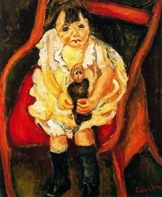 Chaim Soutine -sweet sad girl.  Art Experience NYC  www.artexperiencenyc.com/social_login/?utm_source=pinterest_medium=pins_content=pinterest_pins_campaign=pinterest_initial