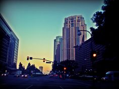 Avenue of the Star and Constellation Boulevard junction, Beverly Hills, California