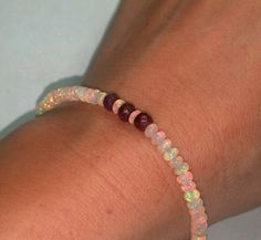 6ct genuine ruby pear briolette 14K earrings with 3ct Ethiopian fire opal