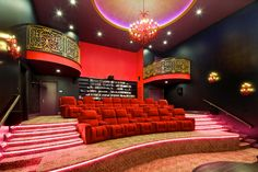 Truly recreating a movie-going experience #mansions #luxuryhomecinemas