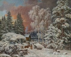 Winter's Tale, Winter Night, Places To Visit, Wright Brothers, Snow, Helsinki, Paintings, Outdoor, Finland