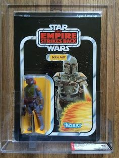 STAR WARS VINTAGE BOBA FETT 48 BACK-A AFA 85 (85/85/85) MOC UNPUNCHED would you believe people are biding on this right now 11/08/15 and it is uo to 1,580.85 and they have 2more days for biding on this toy which properly cost 1.00 and some change the wow factor!!