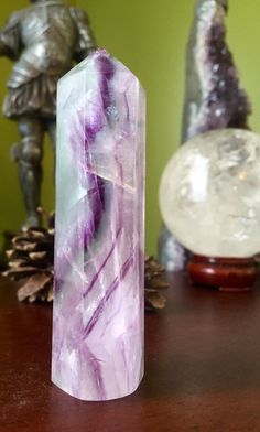 A personal favorite from my Etsy shop https://www.etsy.com/listing/294027969/stunning-light-green-fluorite-tower