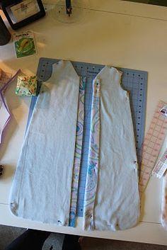 DIY sleepsack by Samster Mommy