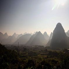 #china #canon #yangshuo #fog #mountains #china #igchina #followme