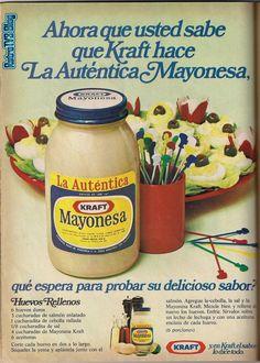 Publicidad retro en Venezuela: Mayonesa Kraft años 70s