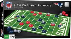 NEW Checkers Family Game NFL NEW ENGLAND PATRIOTS Football Sports #Masterpieces