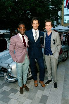 "Tinie Tempah, David Gandy and Nick Grimshaw - ""GQ closes-out LC:M with Samuel L Jackson, David Gandy, Tinie Tempah and more - GQ.co.uk"""