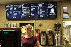 Digital Menu Boards from Menuat at City Coffee Co. in Saint Augustine, FL. To view their Mobile To-Go Menu visit Menuat.com/CityCoffee