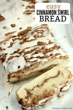 Try this easy Cinnamon Swirl Bread Recipe. You have to make this delicious cinna… Try this easy Cinnamon Swirl Bread Recipe. You have to make this delicious cinnamon roll bread recipe. It is our favorite cinnamon bread recipe. Cinnamon Swirl Bread, Cinnamon Rolls, Cinnamon Recipe, Breakfast Recipes, Dessert Recipes, Pan Dulce, Dessert Bread, Food Cakes, Sweet Bread