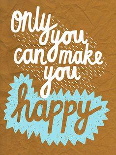 :) be happy