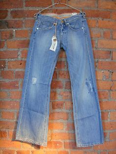 Sugar Battered denim jeans £95 now only £35 international shipping available