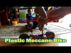 Plastic Meccano Bike for Rabbit