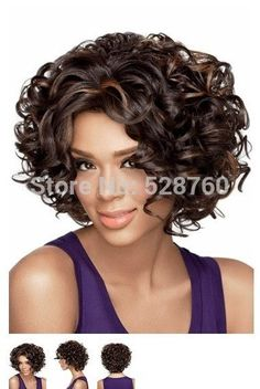 Material: Synthetic Hair Item Type: Wig Length: Long Wigs Type: Natural Wigs Cap Size: Medium Can Be Permed: Yes Style: Curly Lace Wig Type: None Lace Wigs
