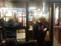 Heart break sets in as the doors are locked up at Smoke's Poutinerie. :(