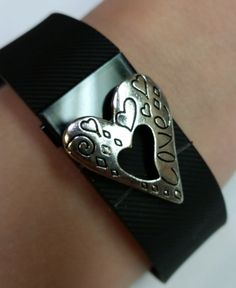 Fitness Band Bling Accessory for Fitbit Charge (or Charge HR)