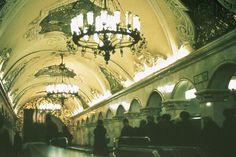 underground, moscow.