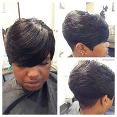 Quick Weave Short Hairstyles Glamorous Short Quick Weave  Natural Hair  Pinterest  Short Quick Weave