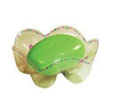 soap dish from liter bottle.if it doesnt look too cheap Reuse Plastic Bottles, Plastic Bottle Crafts, Cd Crafts, Recycled Crafts, Coke Bottle Crafts, Diy Sponges, Pop Bottles, Diy Recycle, Crafts For Kids To Make