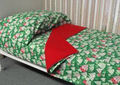 Christmas Flannel Fitted Sheet Set for Baby Crib or by KidsSheets, $80.00