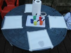 Pre-school Play: Pippette Painting