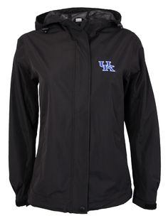 Ladies University of Kentucky Waterproof Rain Jacket