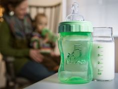 5 Phases Bottles, discovered by The Grommet, are fully encased in a BPA free sleeve to offer the health benefits of glass and durability of plastic. Glass Baby Bottles, Preparing For Baby, Gadget Gifts, Our Baby, Baby Boy, Natural Baby, Having A Baby, Baby Items, Baby Gifts