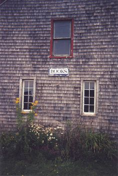 Bookstore, Victoria-by-the-Sea, P.E.I. Canada by Literary Tourist, via Flickr