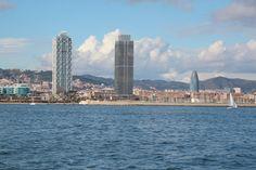 Barcelona desde el mar
