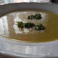 Fotografie receptu: Hustá krémová cuketová polévka