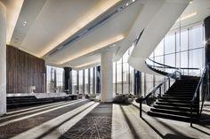 crown metropol - Ground Floor Lobby and stair