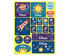 Blast Off! #Personalized #Stickers